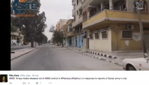 "Palmira, Siria: ""L'abbiamo ripresa"". Isis: ""Falso"""