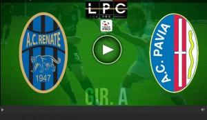 Pavia-Renate Sportube: streaming diretta live su Blitz