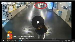 Pescara: scassinatore seriale distributori automatici VIDEO