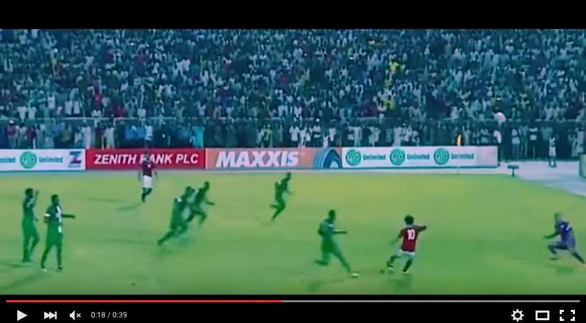 YouTube, il gol di Salah
