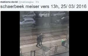 Guarda la versione ingrandita di VIDEO Bruxelles, bambina messa in salvo da forze speciali