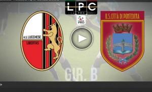 Pontedera-Lucchese Sportube: streaming diretta live