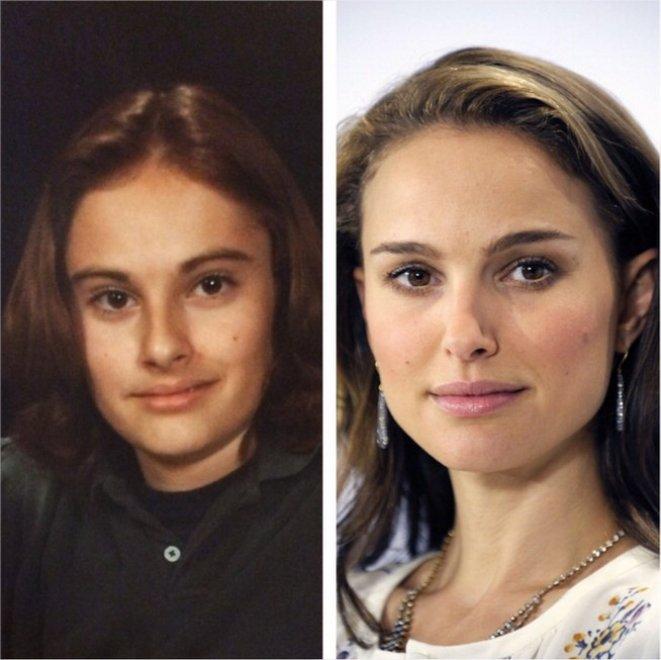 Chi è Natalie Portman in queste foto? Non ci crederete mai..