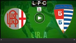 Pro Patria-Alessandria Sportube: streaming diretta live
