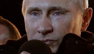 Putin, anche lui piange. E Berlusconi, Napolitano, Bush...