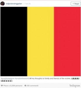 Guarda la versione ingrandita di Bruxelles, Claudia Nainggolan: Dovevo andarci con Radja...
