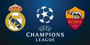 Real Madrid-Roma, diretta. Formazioni Champions League
