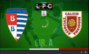 Reggiana-Pro Patria Sportube: streaming diretta live
