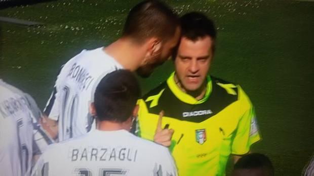 Torino-Juve, Rizzoli: Ho arbitrato male, ma no testata Bonucci