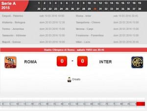 Roma-Inter: diretta live su Blitz. Probabili formazioni