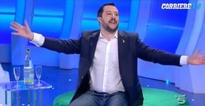 """Matteo Salvini a C'è posta per te... """"operazione simpatia"""""""
