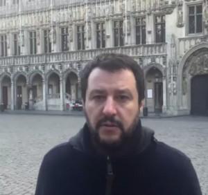 Guarda la versione ingrandita di Strage Bruxelles, Salvini: Ue raccoglie ciò che ha seminato