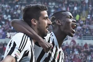 Torino-Juve: 2 turni a Khedira, insulti arbitro. Bonucci...