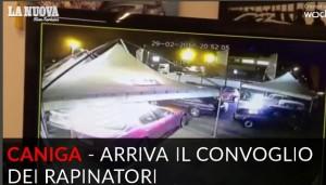 VIDEO Sassari, assalto a caveau Mondialpol in un minuto