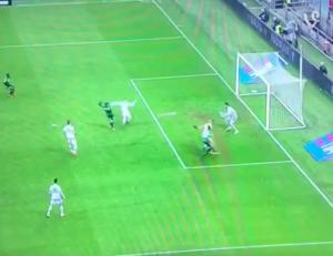 Sassuolo-Milan 2-0, il gol di Sansone