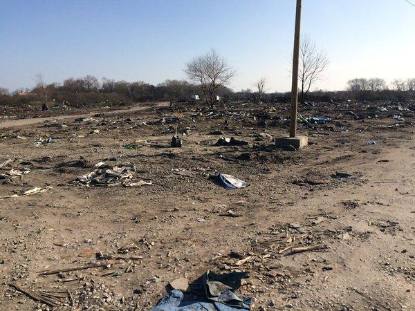 FOTO Calais: cosa è rimasto dopo lo sgombero della giungla 4