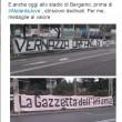 Ultras Atalanta contro Sebastiano Vernazza della Gazzetta dello Sport