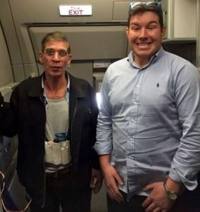 Guarda la versione ingrandita di Aereo Egyptair: il passeggero e il selfie col dirottatore