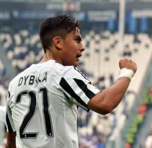 Serie A, Dybala nella foto Ansa