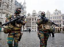 Forze speciali nelle strade di Bruxelles