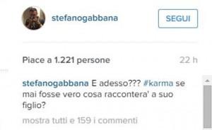 """Stefano Gabbana sfotte: """"Che dirà Elton John a suo figlio?"""""""