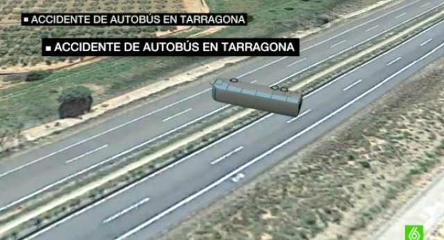 VIDEO Spagna, strage Erasmus: incidente bus in 3D