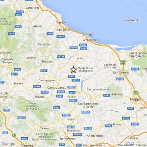 Terremoto Campobasso, 2 scosse: più forte del 3.7 all'alba