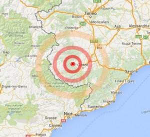 Terremoto, scossa 3.5 a Cuneo: paura tra abitanti