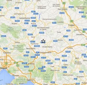 Guarda la versione ingrandita di Terremoto tra Reggio Calabria e Catania. Elenco scosse oggi (nella foto, la scossa di Avellino)