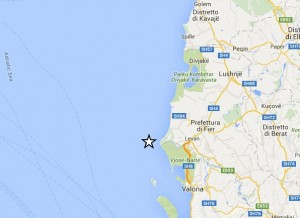Guarda la versione ingrandita di Terremoto Lecce e Salento: scossa con epicentro in Albania