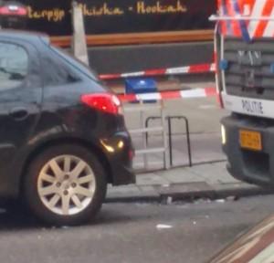 VIDEO Testa mozzata davanti a ristorante ad Amsterdam