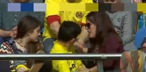Lionel Messi, pallonata sugli spalti: tifosa sviene