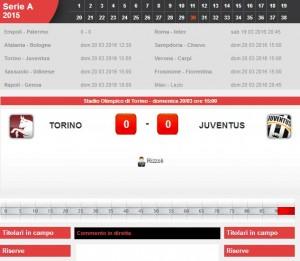 Torino-Juventus: diretta live su Blitz. Formazioni e info