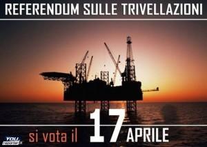 Guarda la versione ingrandita di Trivelle sì/no: sul referendum (17/4) congiura del silenzio