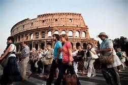 Turisti a Roma