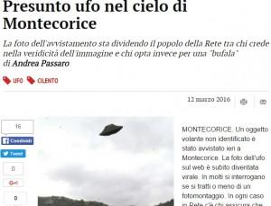 Salerno, Ufo a Montecorice? La foto che divide il web