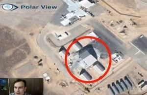 """""""Ufo dentro Area 51"""": misteriosa FOTO su Google Maps..."""