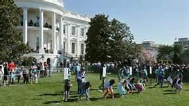 La ''caccia alle uova'' nel giardino della Casa Bianca