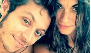 Valentino Rossi e Linda Morselli (foto Facebook)