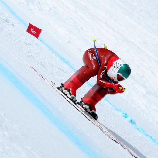 YOUTUBE Ivan Origone, Valentina Greggio: record velocità sci4