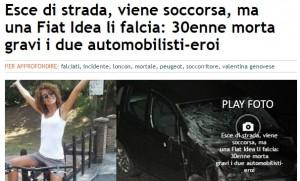 Venezia, esce di strada e viene soccorsa: ma un'altra auto..