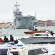 Corteo sull'acqua contro Tav e grandi navi a Venezia3