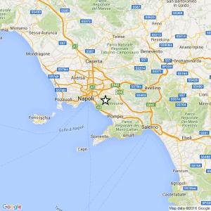 Terremoto Vesuvio, scossa del 2.1 con epicentro nel vulcano