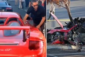 """Paul Walker, morte """"non causata da problemi Porsche"""""""