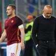"""Spalletti a Totti: """"Giochi a carte fino alle 2 di notte..."""""""