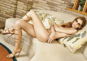 Chiara Ferragni nuda su Vanity Fair America FOTO