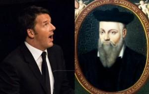 "Matteo Renzi, profezia Nostradamus: ""In Campania, Firenze.."""