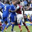Leicester-West Ham 2-2, Ranieri pari al 95', Vardy espulso 02