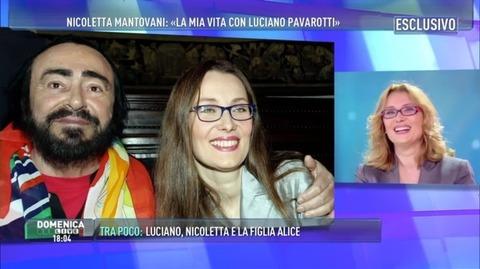 Barbara d 39 urso nicoletta mantovani e metodo zamboni ma for Luciano pavarotti nicoletta mantovani
