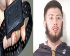 Rompe braccialetto elettronico: Polizia cattura latitante